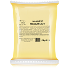 Maionese premium light 5 un/1.1 kg
