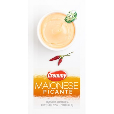 Maionese Picante Cremmy 7g